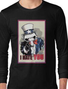 Pissed OFF Panda Uncle Sam Long Sleeve T-Shirt