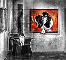 Hey it's a Dogs World by Richard Gaffney