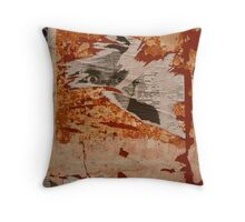 Uncovered eyes Throw Pillow