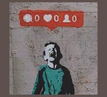 IHeart Banksy T-Shirt