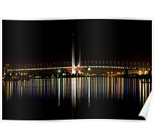 """Bolte Bridge"" - Melbourne Poster"