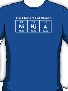 Ninja Elements of Stealth T-Shirt