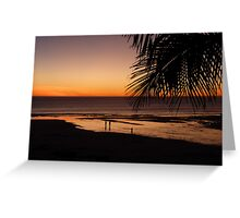 Broome Beach at  Sunset  Greeting Card