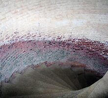 Stairway at Fort Point San Francisco by RoySorenson
