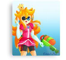 Splatoon Princess Peach Metal Print