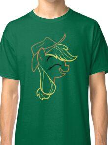 AppleJack: Happy Outline Classic T-Shirt