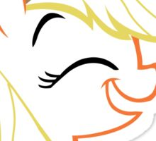 AppleJack: Happy Outline Sticker