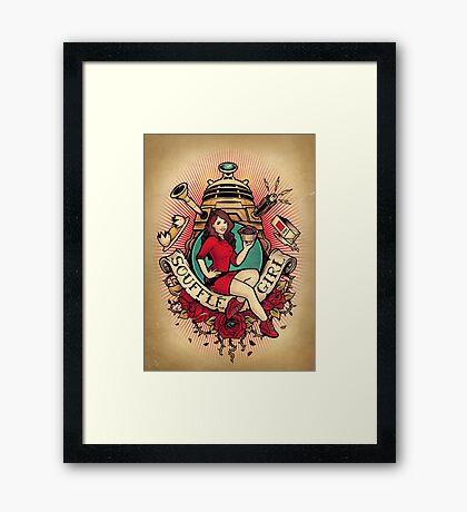 Souffle Girl Framed Print