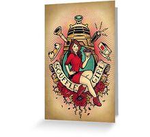 Souffle Girl Greeting Card
