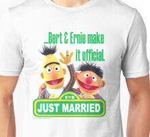 Bert & Ernie - Just Married Unisex T-Shirt
