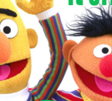 Bert & Ernie - Just Married Sticker