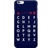 A to B (v2) iPhone Case/Skin