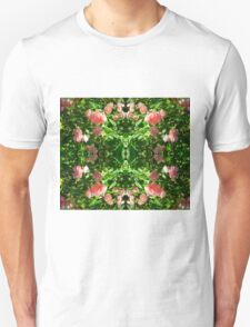 Foaming Pink Blossoms Duvet Unisex T-Shirt