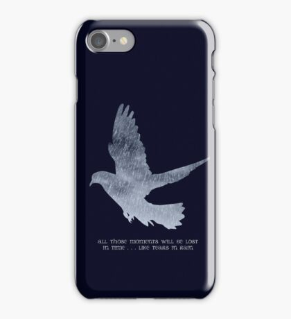 Blade Runner Quote iPhone Case/Skin