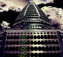 Stupa Texture by Hugh Fathers