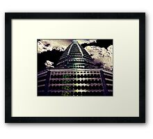 Stupa Texture Framed Print