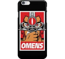 The Sword Obeys iPhone Case/Skin