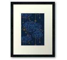 Nautical Skies Framed Print