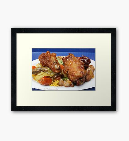 Chinese Chicken Framed Print