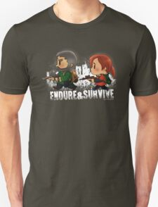 Chibi Joel and Ellie T-Shirt