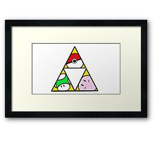 Triforce of Nintendo Framed Print