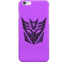 Transformers Decepticons iPhone Case/Skin