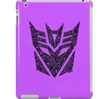 Transformers Decepticons iPad Case/Skin