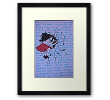 Intrusive Thoughts Framed Print