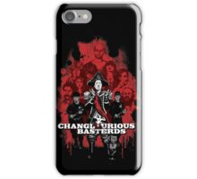 Changlourious Basterds (Any Shirt Colour) iPhone Case/Skin