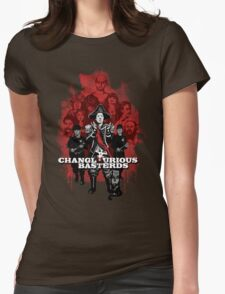 Changlourious Basterds (Any Shirt Colour) Womens Fitted T-Shirt