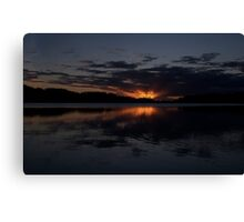 Glow - Narrabeen Lakes,Sydney - The HDR Experience Canvas Print