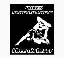 Mixed Martial Arts Knee On Belly Black  T-Shirt