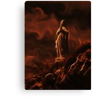 Praying Virgin Mary Canvas Print