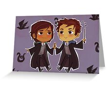 Cute Wizards (postcards) Greeting Card