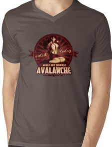 AVALANCHE Wants YOU! Mens V-Neck T-Shirt