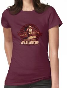 AVALANCHE Wants YOU! Womens Fitted T-Shirt