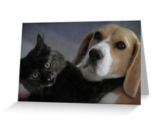 Best friends .  .really and truly. Greeting Card