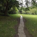 path leading back, and, then, out -(120811)- digital photo by paulramnora