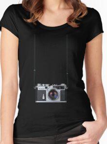 Nikon Sp Rangefinder Women's Fitted Scoop T-Shirt