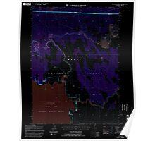 USGS Topo Map California Sagebrush Butte 294897 1993 24000 Inverted Poster