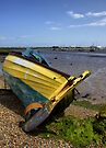 All Washed Up At Aldeburgh by Darren Burroughs