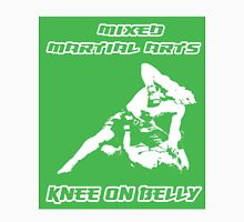 Mixed Martial Arts Knee On Belly Green  T-Shirt