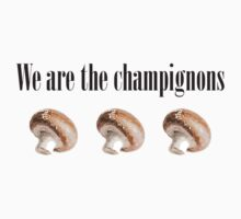We are the champignons - 1 by DocMiguel