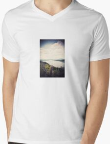 Away In The Distance Mens V-Neck T-Shirt