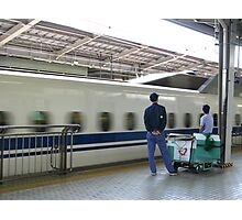 Bullet Train at Shin Osaka Station Photographic Print