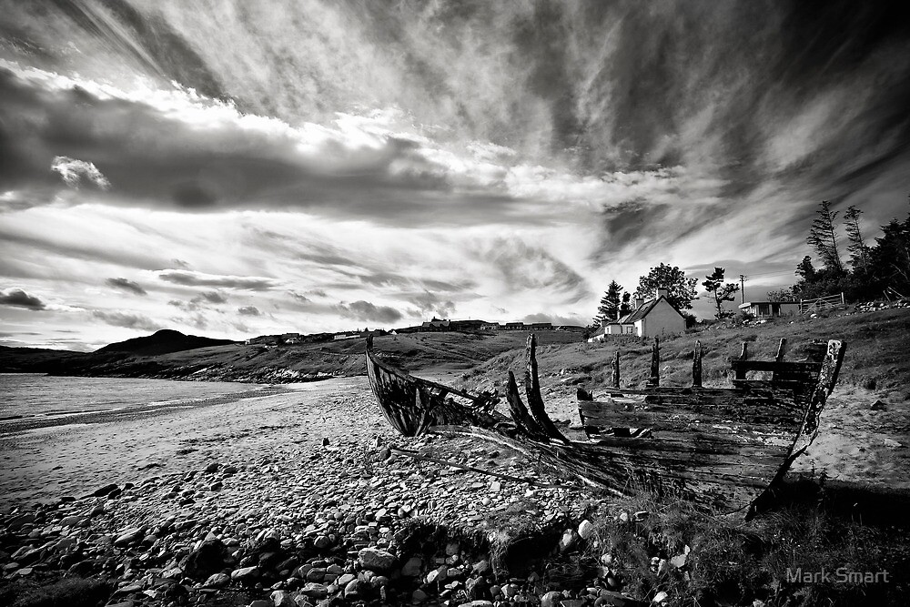 Boat wreck by Mark Smart