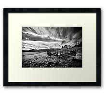 Boat wreck Framed Print