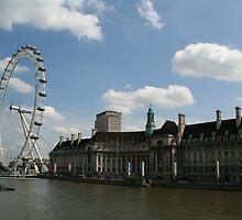 Engineering Marvel - The London Eye by Allen Lucas
