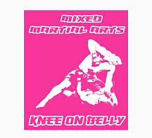 Mixed Martial Arts Knee On Belly Pink T-Shirt