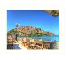 A Beautiful Day on the Island HDR Art Print